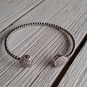 Rhodium Flexi Bracelet NEW